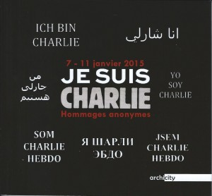 Je suis Charlie - Hommages anonymes